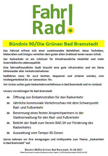 Flugblatt Rad