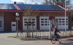 Solardach Feuerwehrhaus